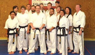 Tim Geer receives fourth-degree black belt