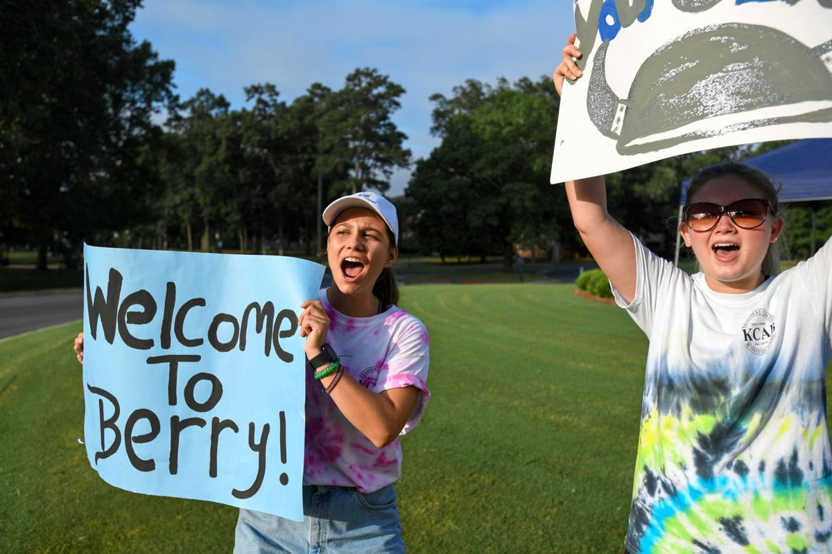 Berry College Move-In Day was flurry of activity
