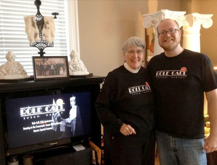 Artist/author Susan Gilbert Harvey and filmmaker Brian Armstrong