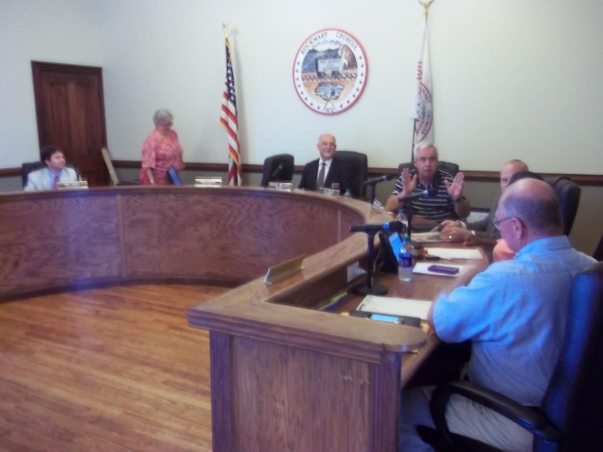 Rockmart City Council July 2017
