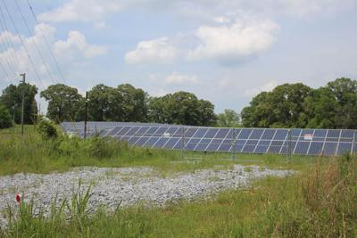 Solar farm in Aragon
