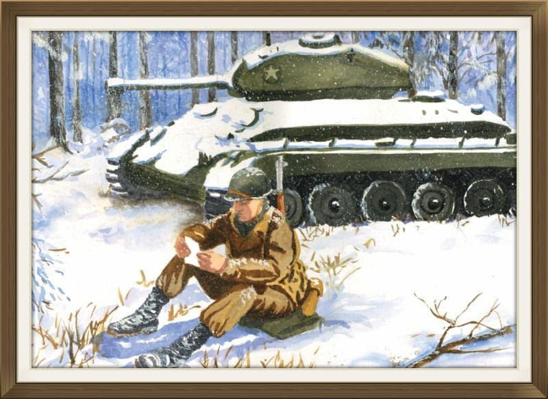 Famous Patton Prayer Christmas Card Offered By 6th Cavalry