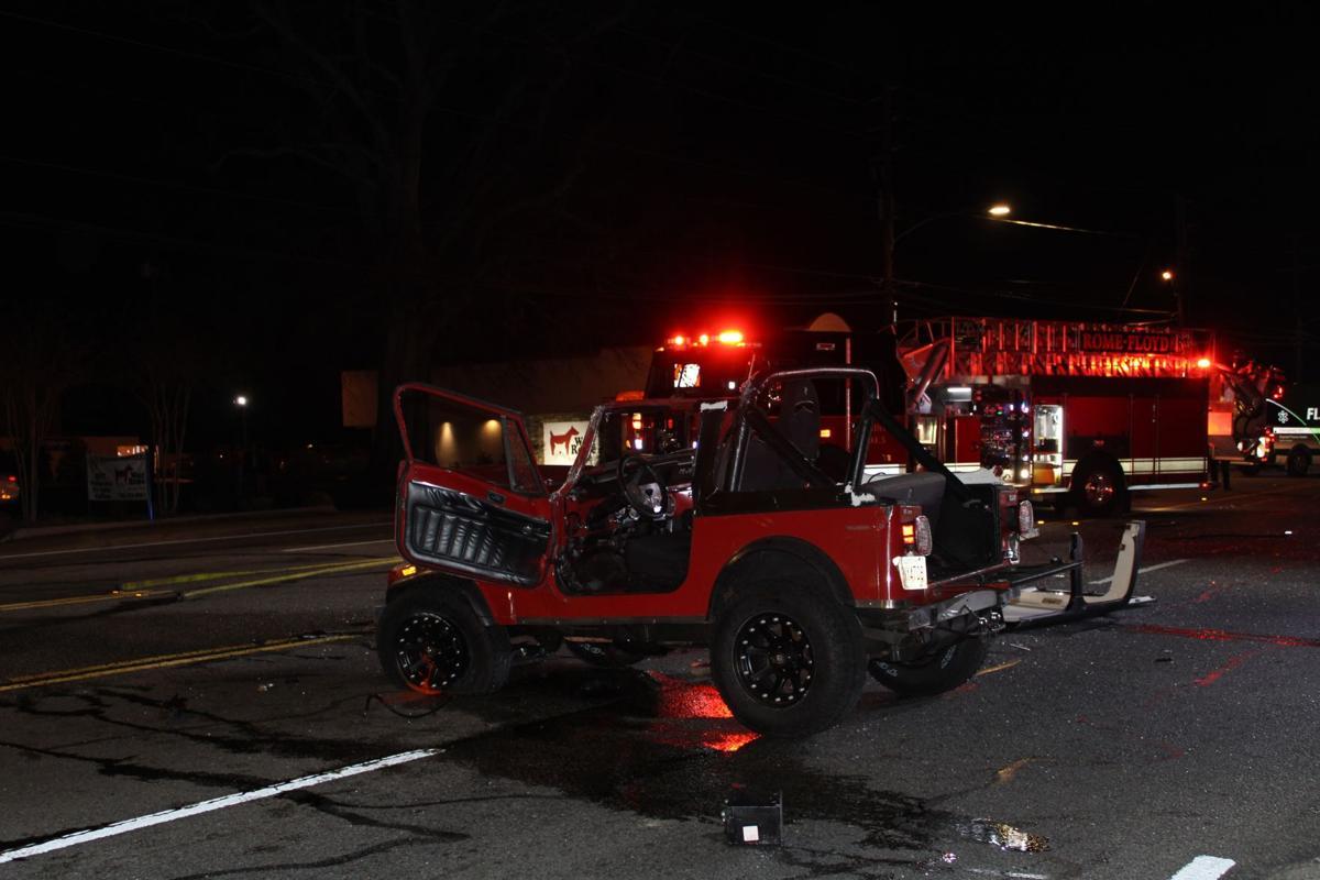 Two taken to hospital after crash near Little Caesar's on Shorter Ave.