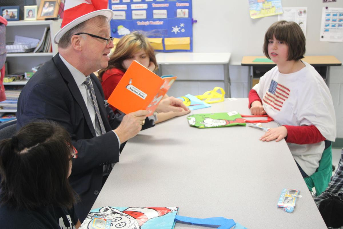 Read Across America visit at CMS