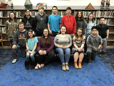 Ashworth Middle School's Students of the Month