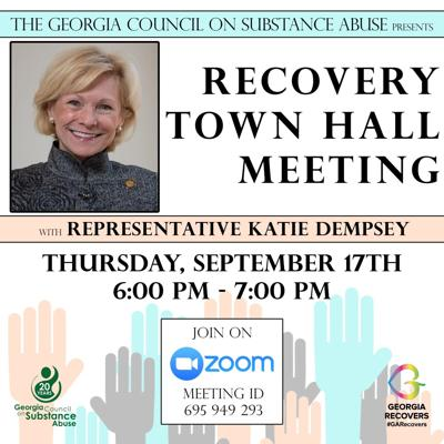 Rep. Dempsey Town Hall Flyer