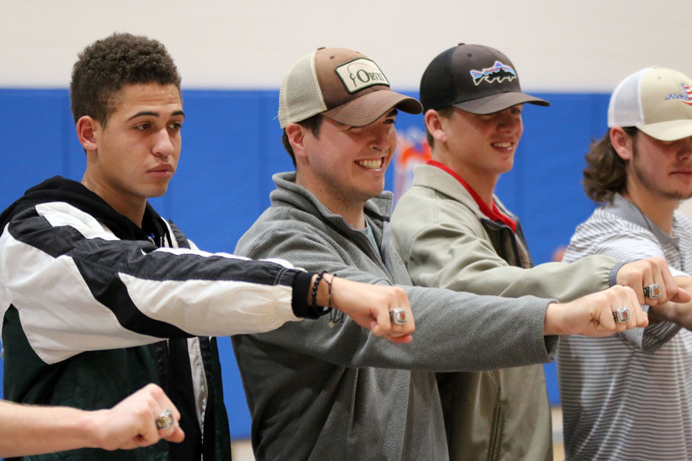 GHC baseball team receives championship rings