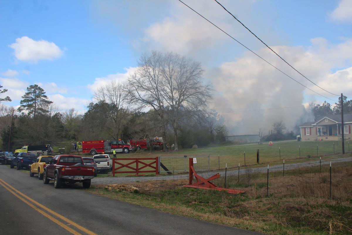 Lovvorn Road fire