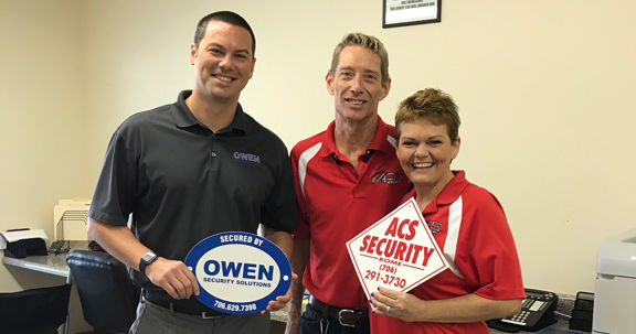 Georgia-based Owen Security Solutions continues to grow through acquisition of ACS Security-Rome
