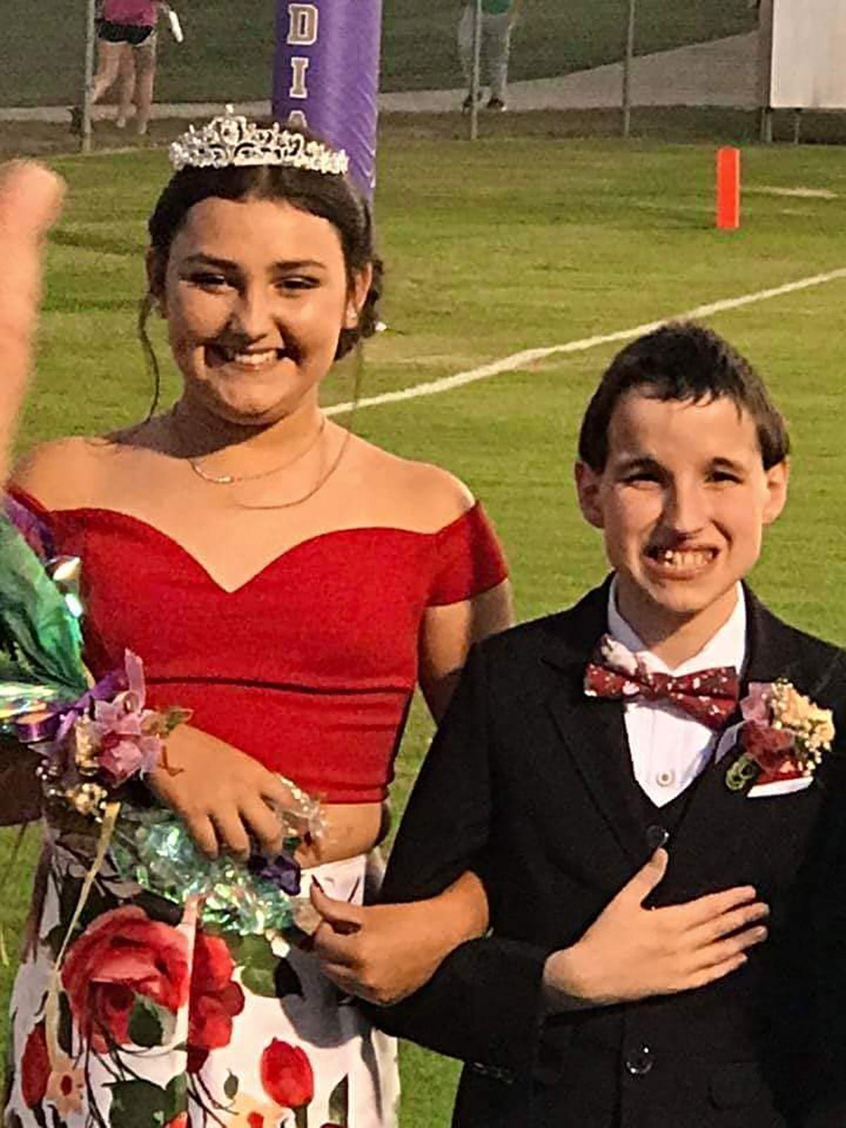 Gracie Johnson and Matthew Hart