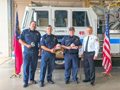 Cedartown Fire Department promotions June 2019