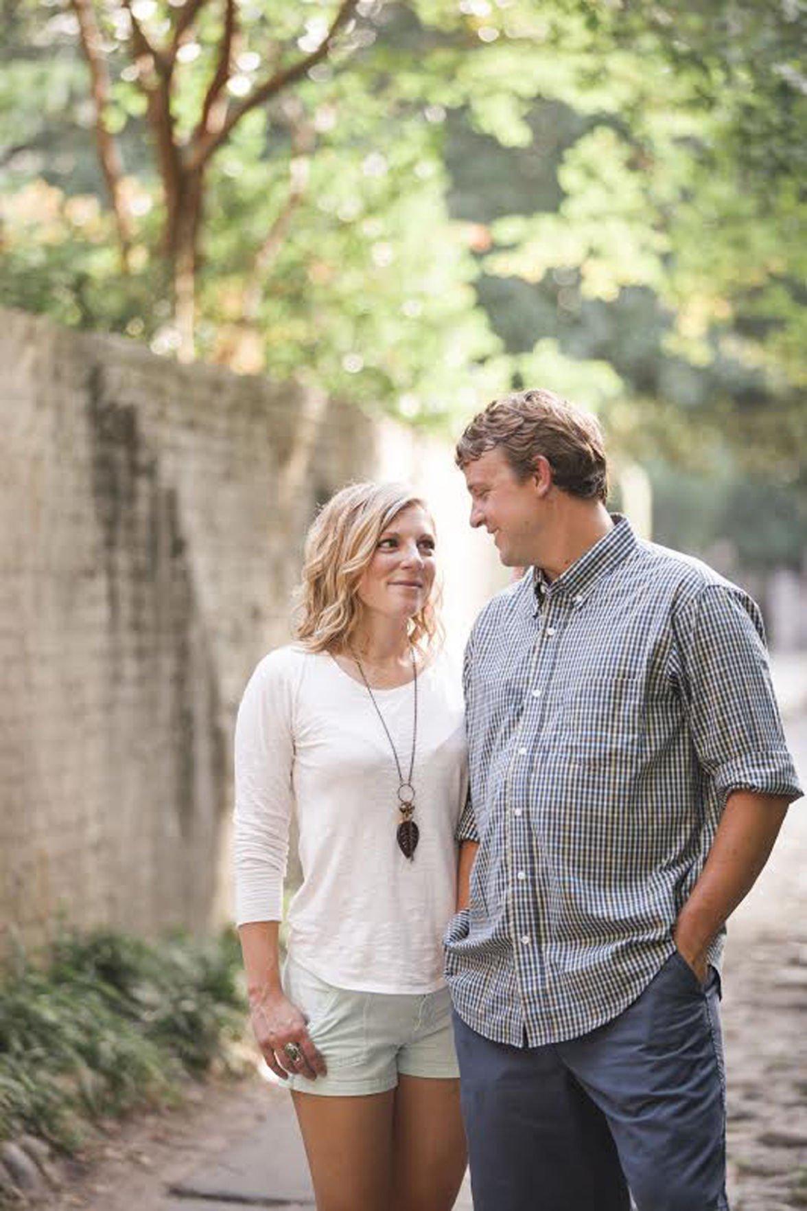 Lauren Atwell and Matthew Housley