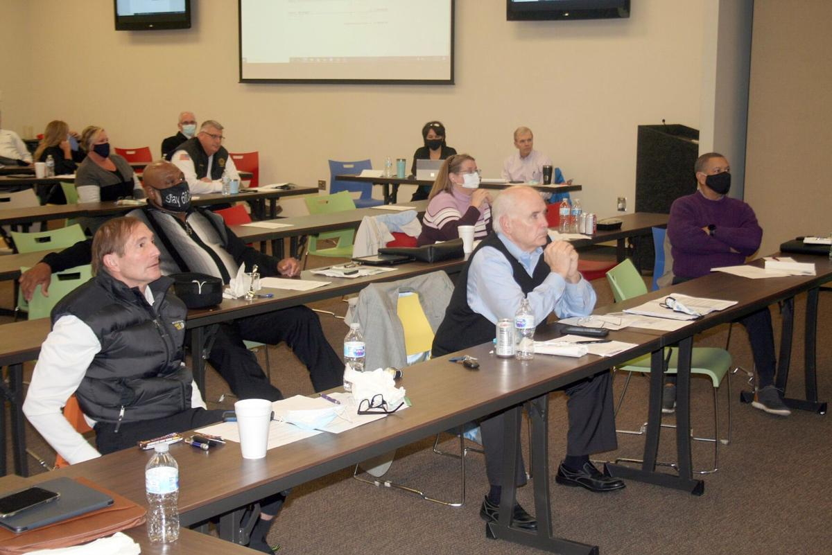 Commissioners focused on change for the future