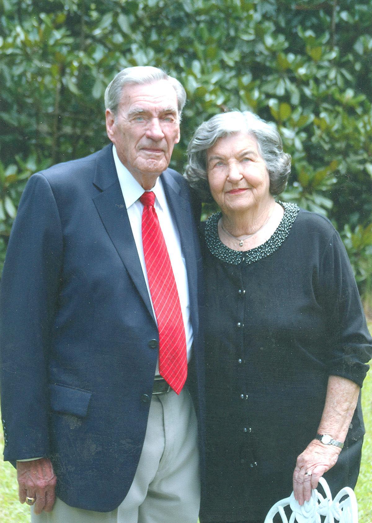 Herman and Mabel Robinson