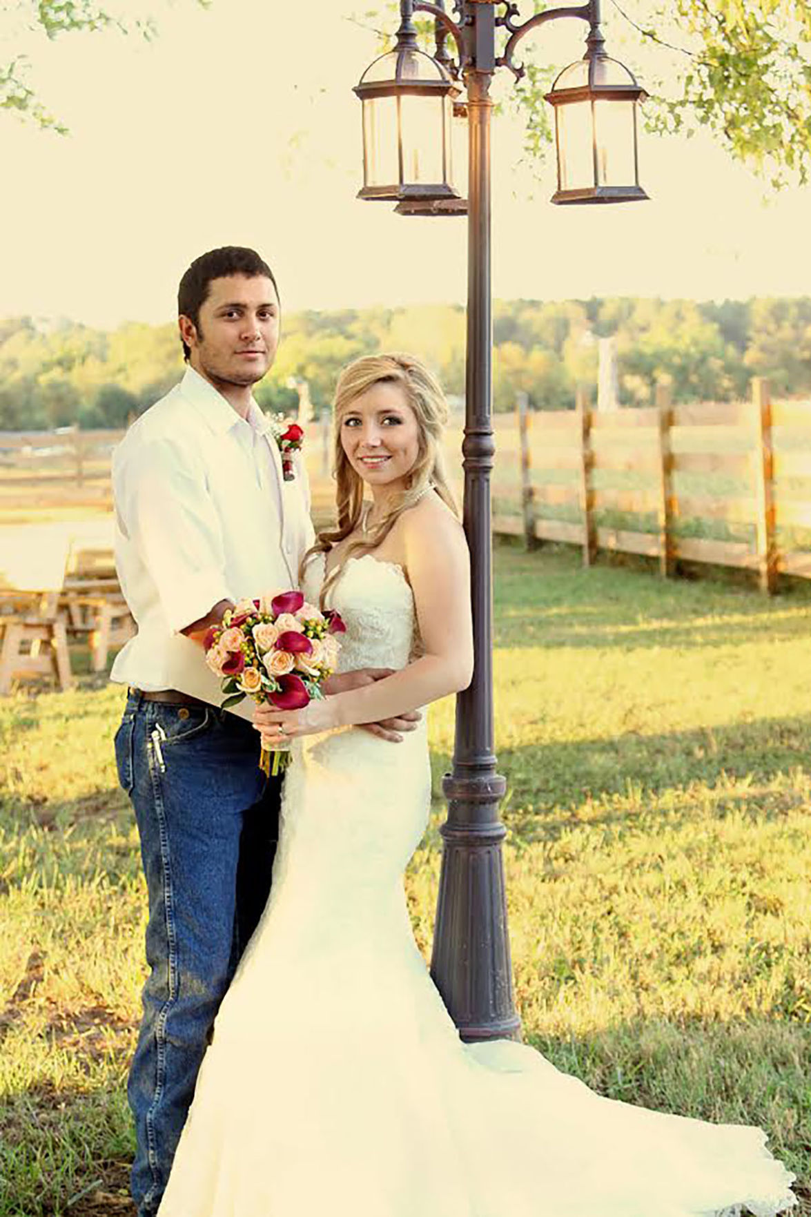 Mr. and Mrs. Kyle Russell