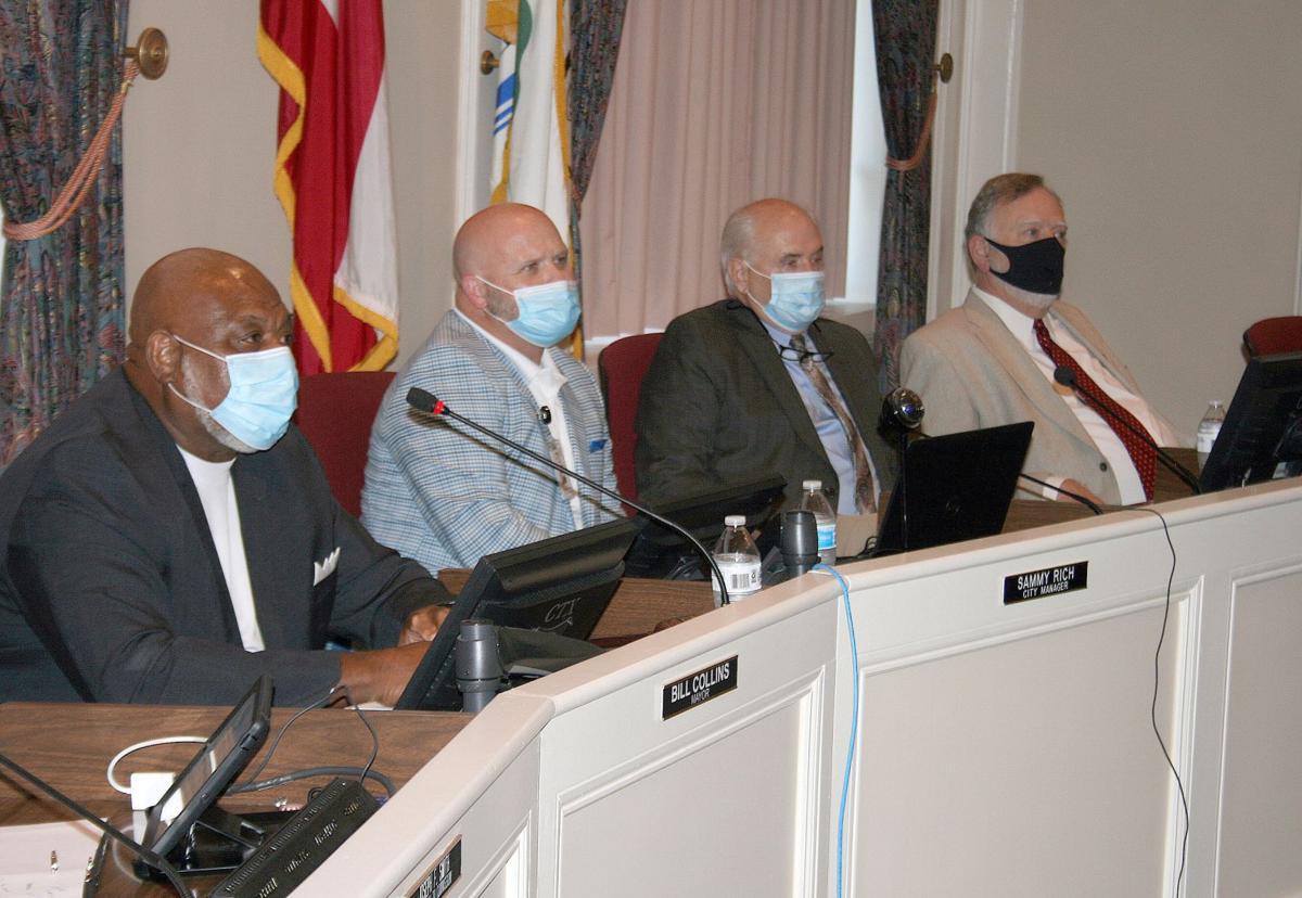 City mandates masks
