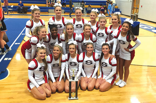 Sonoraville Cheerleading wins at Ringgold