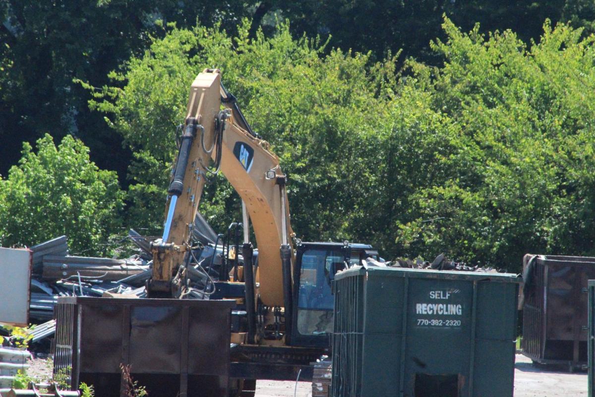 Kmart demolition underway