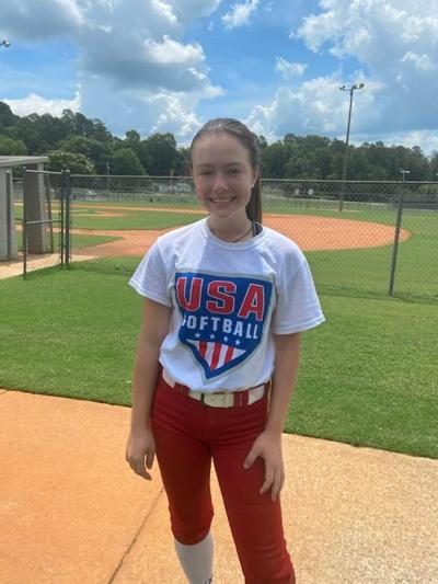 Avery Eury - Model Middle School Softball