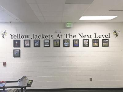 Rockmart's College Wall of Fame now on display at high school