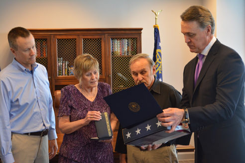 Senator David Perdue acts to protect Purple Heart medals