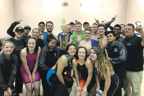 Calhoun Swim team NWGA Championship group