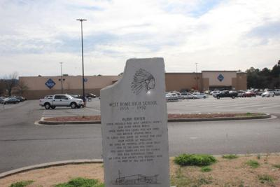 West Rome HS marker at Walmart