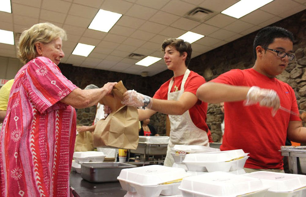 St. Mary's Catholic Church Knights of Columbus annual barbecue