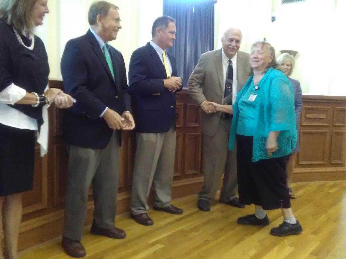 Donna Maldonado receives recognition