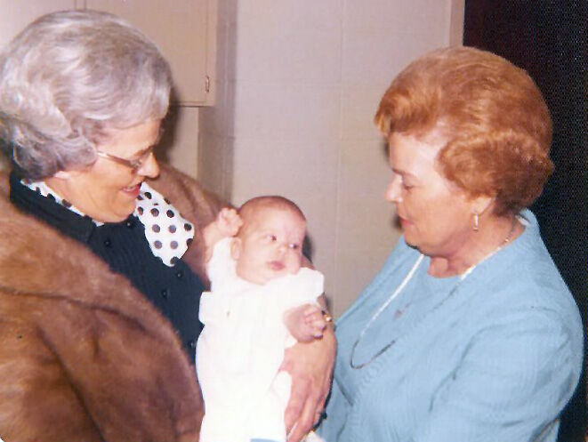 Judge Salter with grandmothers