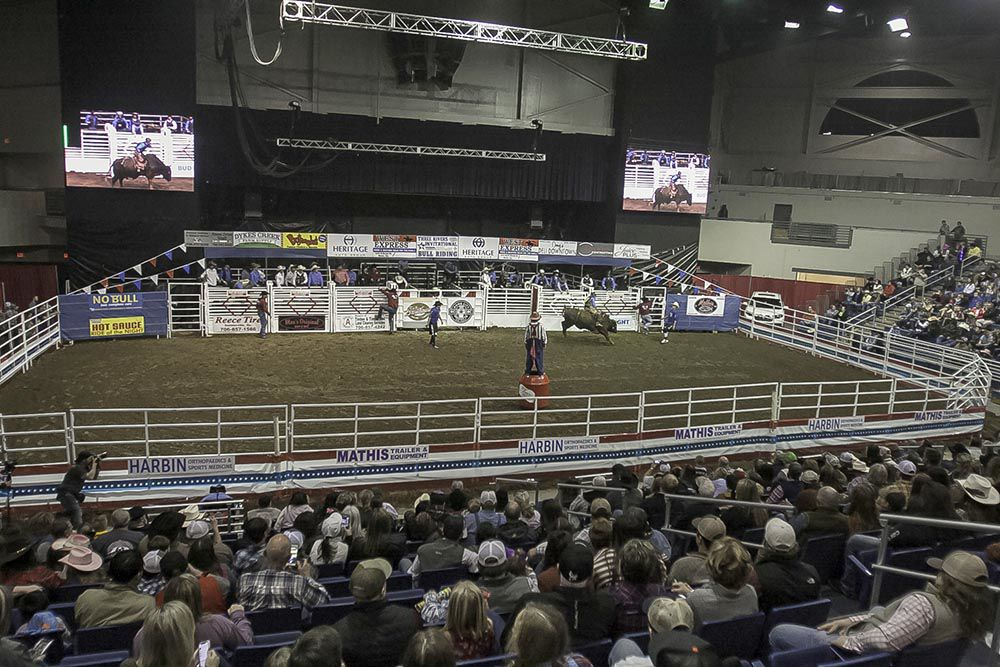 Thrills and spills at Three Rivers Invitational Bull Riding