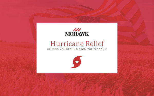 Mohawk Industries entire family  of brands unites for hurricane relief