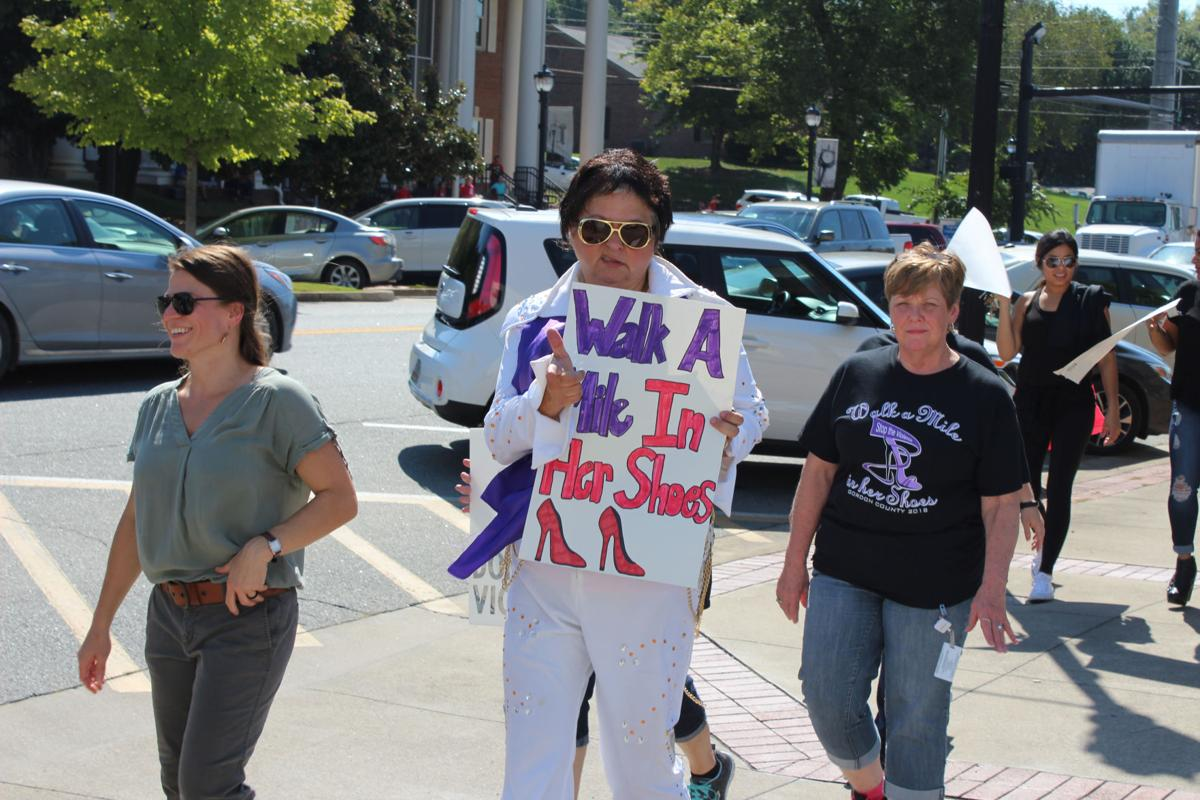 Seventh annual Walk a Mile in Her Shoes