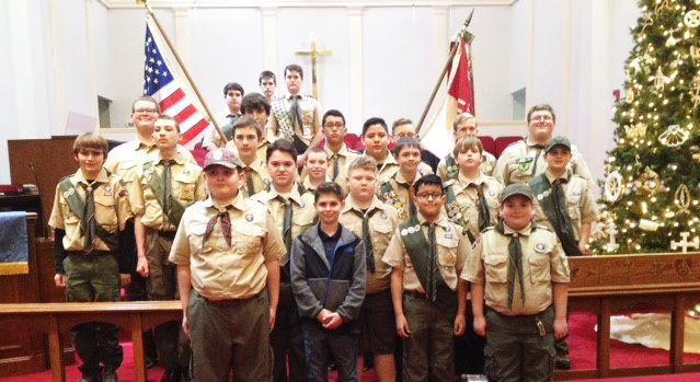 Local Scout troop holds Court of Honor ceremony at recent meeting