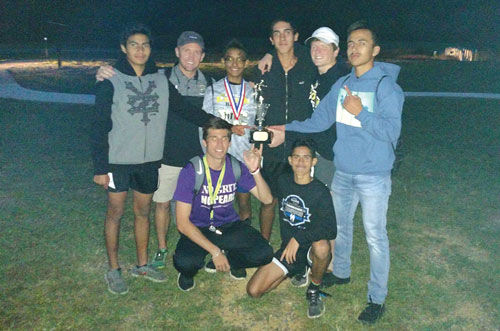 Calhoun boys Region 6-AAA Cross Country champs