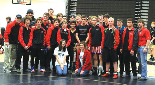 Sonoraville wins Calhoun New Year's Duals