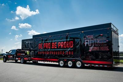 Be Pro Be Proud mobile workshop in Calhoun