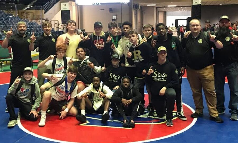 Rockmart wins 3A state wrestling title in Macon