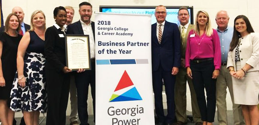 Georgia Power named CCA's 2018 Business Partner of the Year