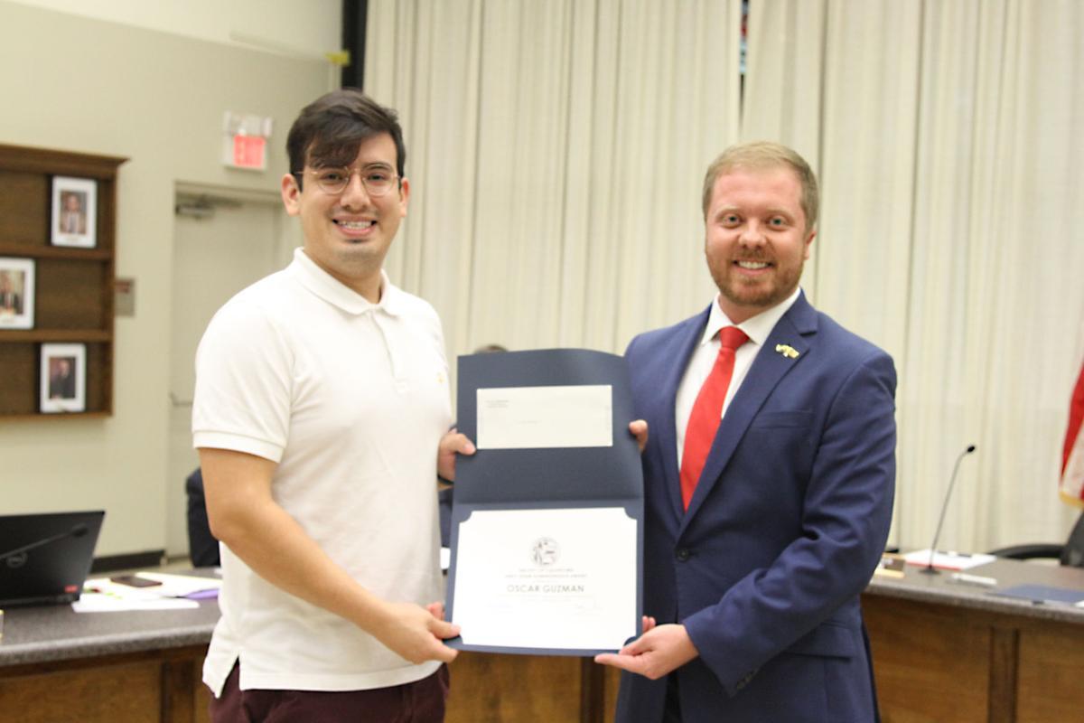 Guzman receives 2020 Emily Shaw Administrative Award