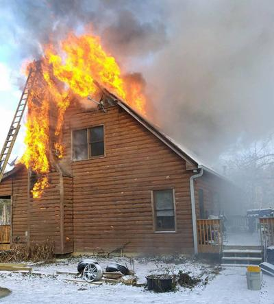 Old Collard Valley Road house fire