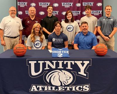 Unity Christian - Huston Bryant signs with Shorter University