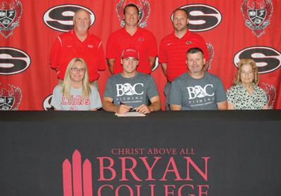 Sonoraville's Parker signs with Bryan College