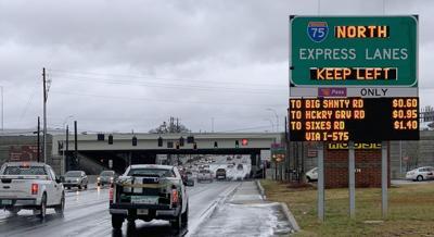 Georgia toll lanes