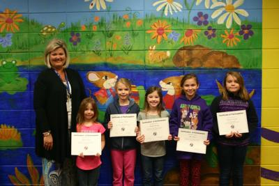 Youngs Grove students participate in Young Georgia Authors competition