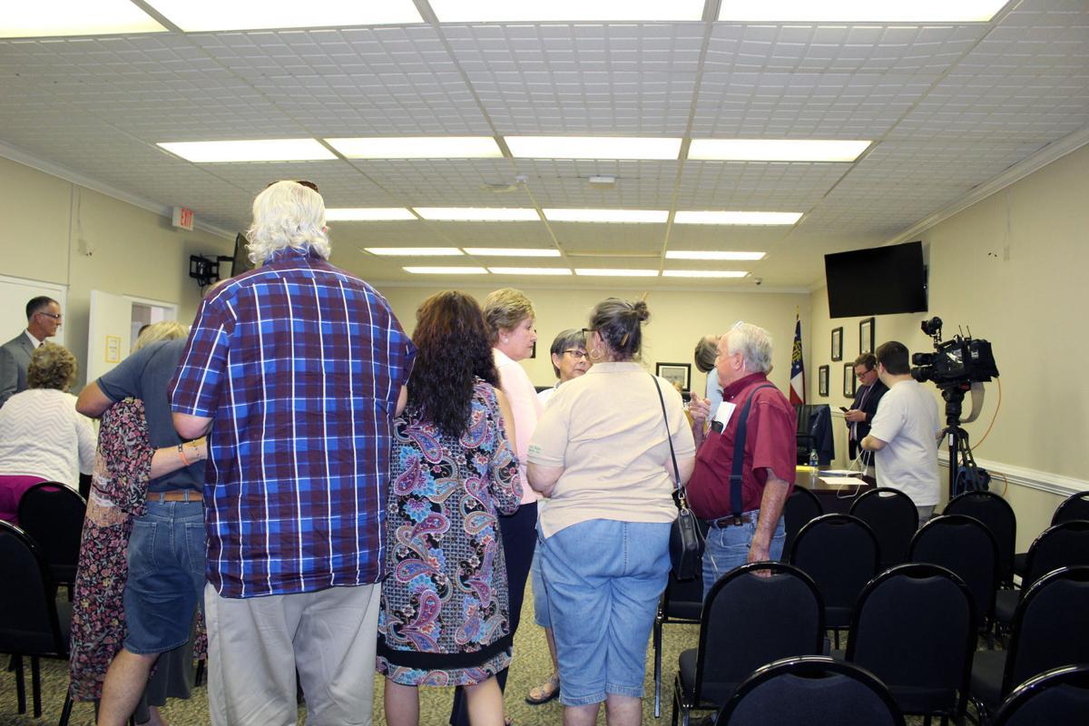 Walker County Millage Rate Increase Meeting