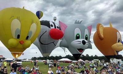 Rome Hot Air Balloon Festival