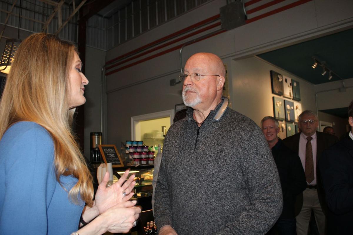 Sen Loeffler Stops By Swift Finch Local News Northwestgeorgianews Com