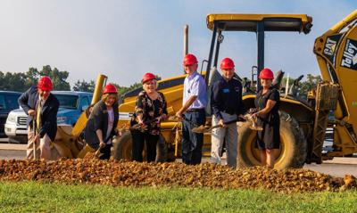 Breaking ground for LFO Performing Arts Theater