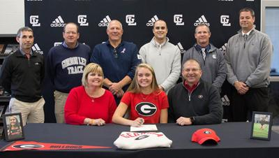 Dawg day afternoon for Gracie O'Neal